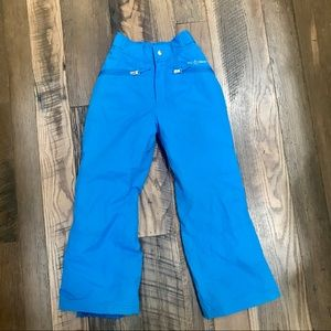 Free Country snowboard ski pants girl 7-8